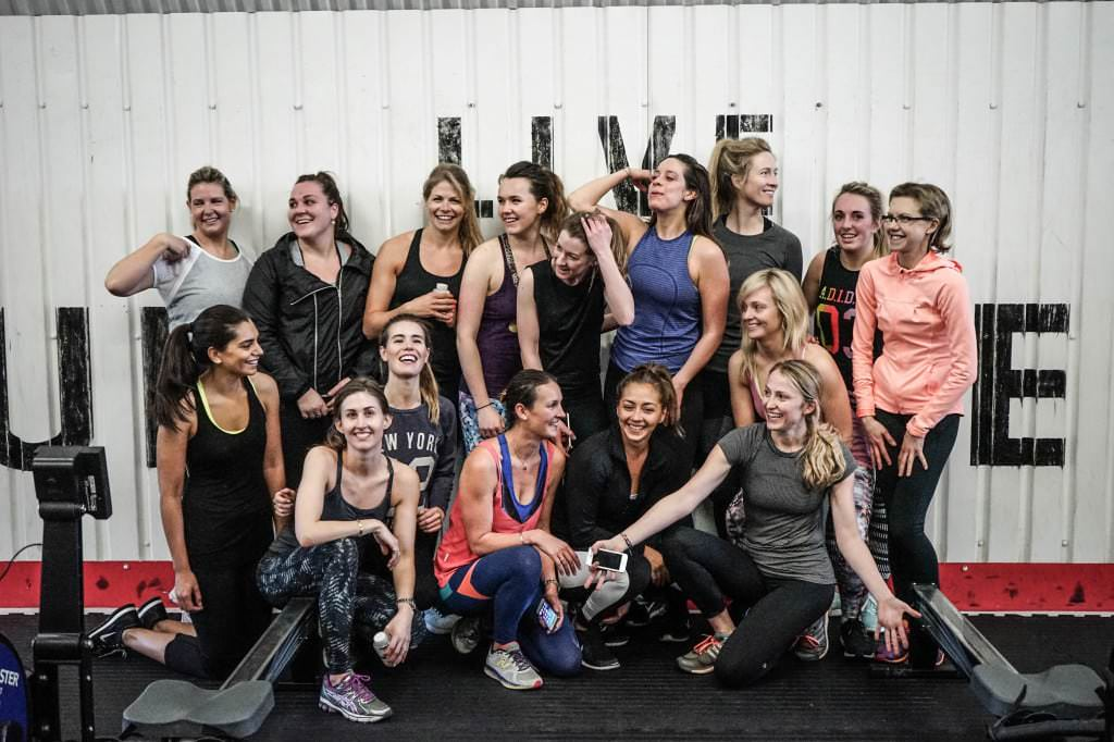 Crossfit Perpetua does women's only crossfit classes