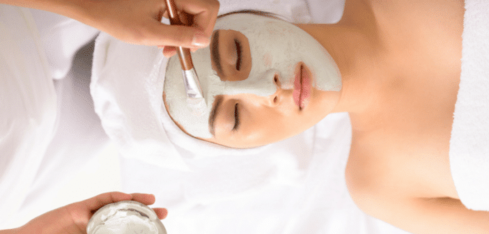 Is a facial necessary to get the glow?