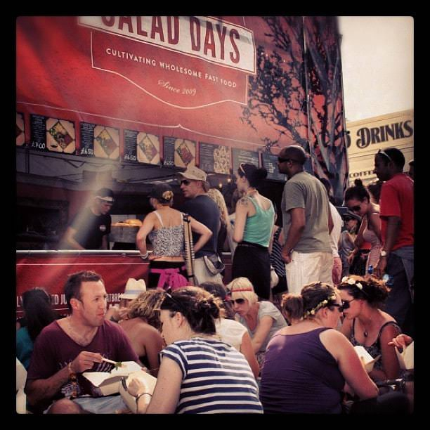 Salad Days healthy street food at festivals