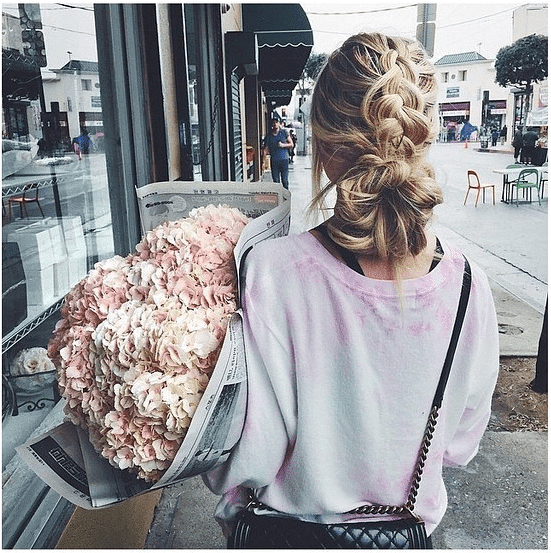 Blo Blow Dry Bar in Covent Garden incredible updo