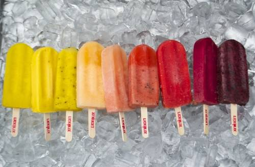 Lickalix festival street food ice lollies