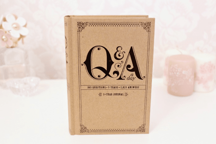 Q and A 5 year journal