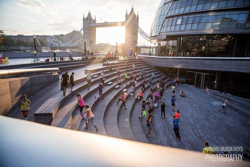 Project Awesome is a weekly fitness group taking over the southbank and Primrose Hill in London