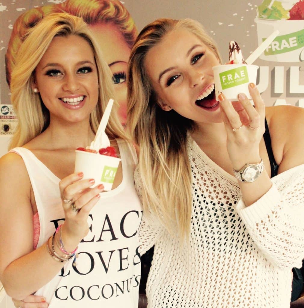 Tessa Seward the London Paleo Girl has launched CoFro a coconut frozen yogurt now available at FRAE in Notting Hill