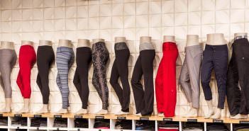 lululemon pant wall