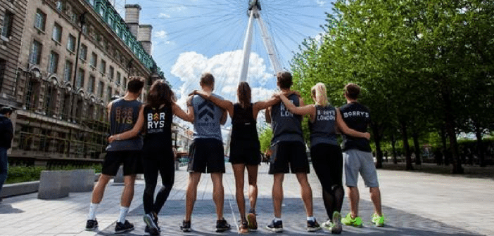 Barry's Bootcamp Stand Up To Cancer