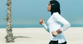 Nike high-performance hijab