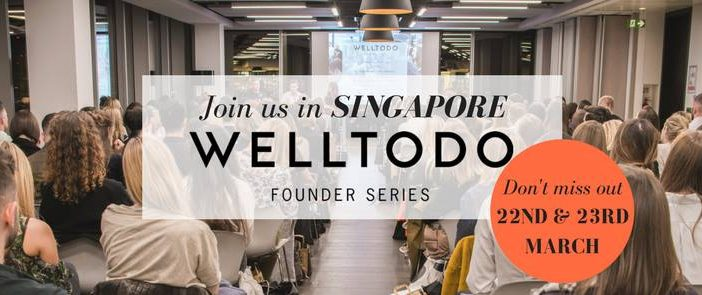 We're headed to Singapore for the launch of our first ever international Founder Series, in Singapore on 22nd and 23rd March 2018.