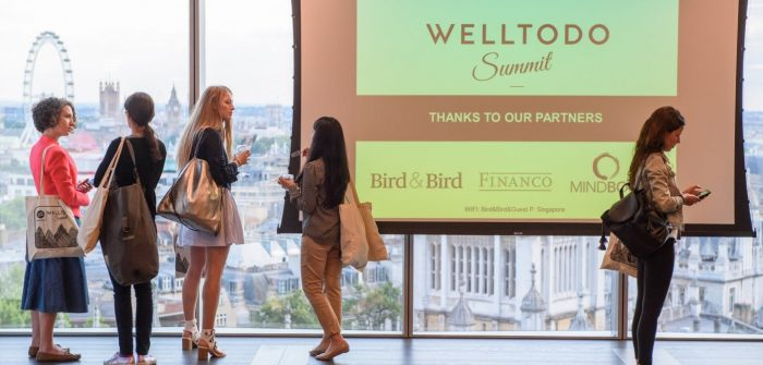 The Welltodo Summit; a groundbreaking event bringing together over 300 business leaders, industry experts, investors and founders of the world's leading wellness brands, for a powerful conversation about the business of wellness, is returning to London on Thursday 28th June 2018.