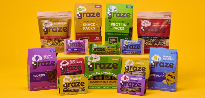 Graze Rebrands In Attempt To Reimagine Healthy Snacking