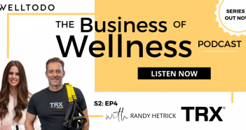 The Business of Wellness with Randy Hetrick, Founder, TRX