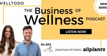 The Business of Wellness with Jonathan Petrides (JP), Co-Founder, allplants