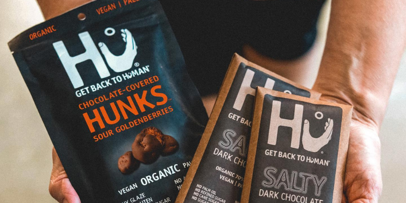 Mondelez acquires paleo chocolate-bar maker Hu to expand healthy snack business  F&B giant Mondelez has acquired Hu Master Holdings, maker of healthy snack brand Hu in a deal worth more than $250 million, according to The Wall Street Journal.  The move follows a minority investment into the brand by Mondelez back in April 2019.  Hu, founded in 2012, makes vegan, paleo-friendly chocolate bars made with organic cacao and has a devoted following among consumers.