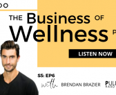 The Business of Wellness with Brendan Brazier, Co-Founder, Vega and Pulp Culture