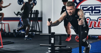 F45 has announced a global partnership with David Beckham.