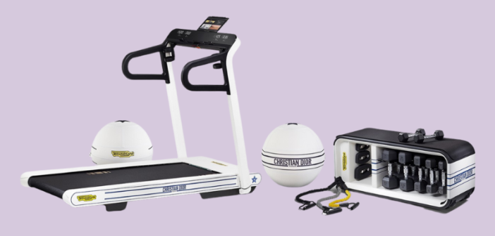 Dior debuts fitness equipment line in collaboration with Technogym